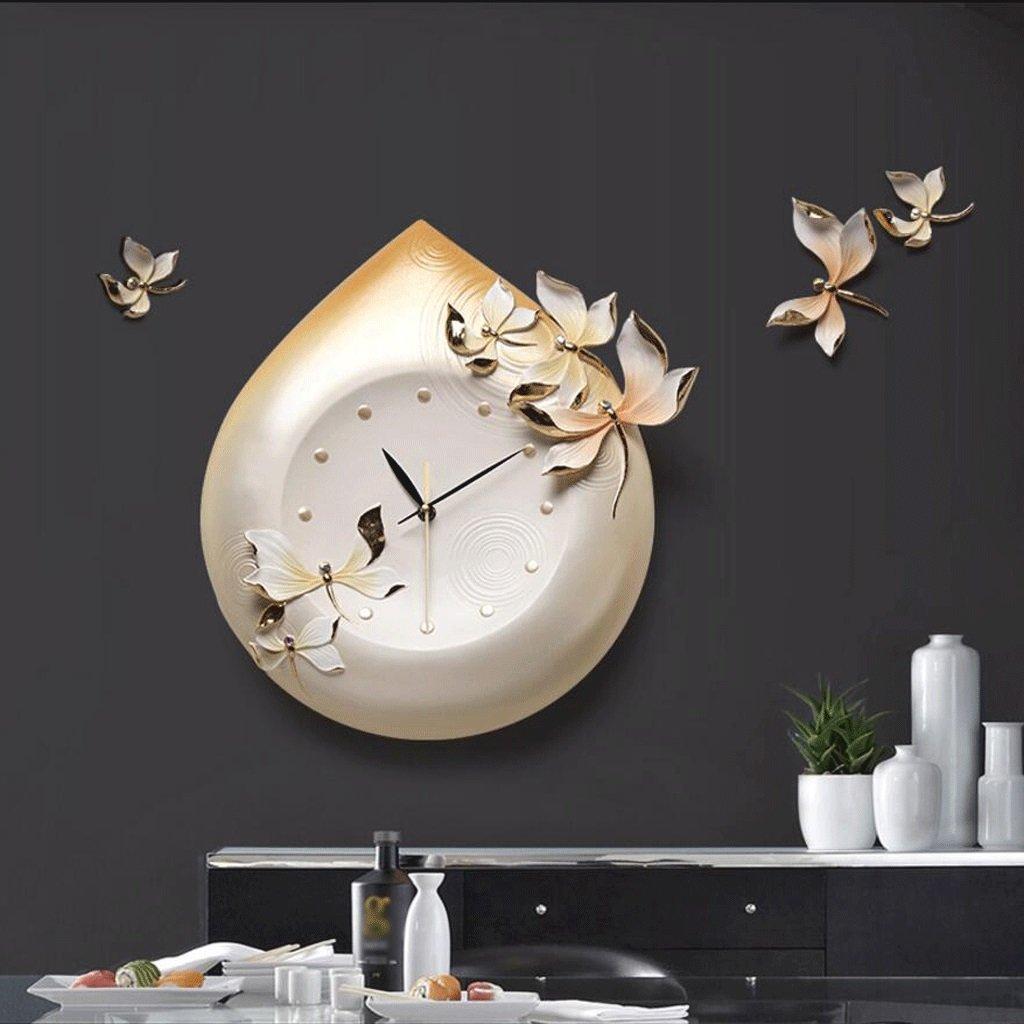 GAOLILI リビングルームの壁時計クリエイティブウォールクロックパーソナライズされた3Dアートのインテリアウォールクロック ( 色 : C ) B07CC4T563C