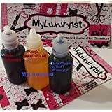 Liquid Soap Color Body Scrub Dyes 10 ml Dark Red Mango Yellow Dark Blue 3 Pack
