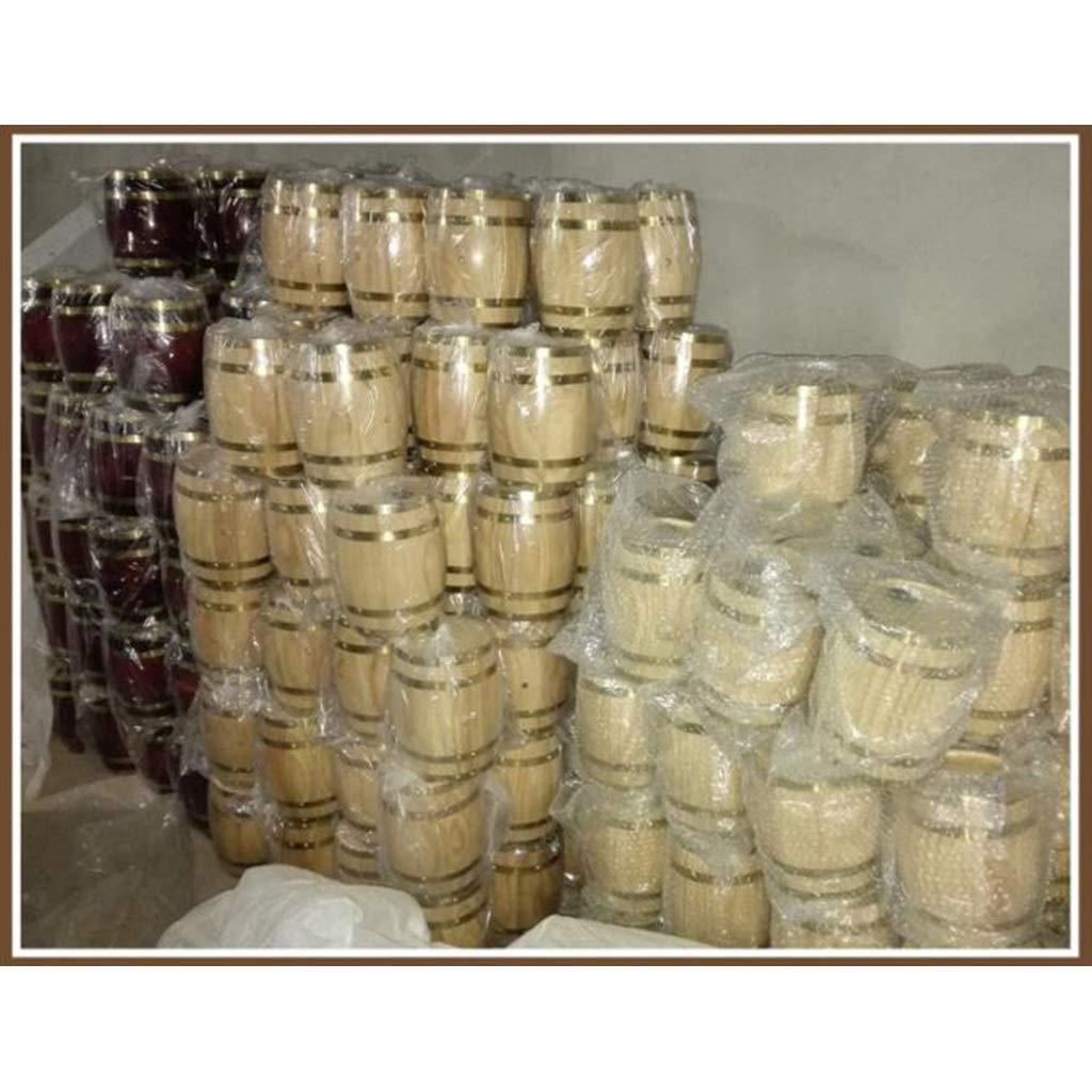 HQCC Barril de Roble de 5 litros, Barril de decoración del hogar, Tanque de Whisky/Brandy, dispensador de Vino (Capacidad : 5L, Color : A): Amazon.es: Hogar