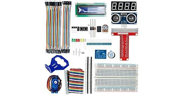 Amazon.com: eDealMax Proyecto Módulo UNO R3 Starter Kit Fuente de alimentación de cortar el pan Para Arduino arranque: Electronics