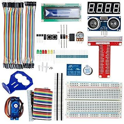eDealMax Proyecto Módulo UNO R3 Starter Kit Fuente de alimentación de cortar el pan Para Arduino