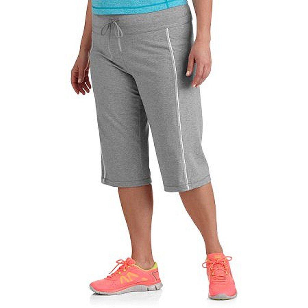 980c7d9b03b Danskin Now Women s Plus-Size Dri-More Core Piped Bermuda Shorts at Amazon  Women s Clothing store