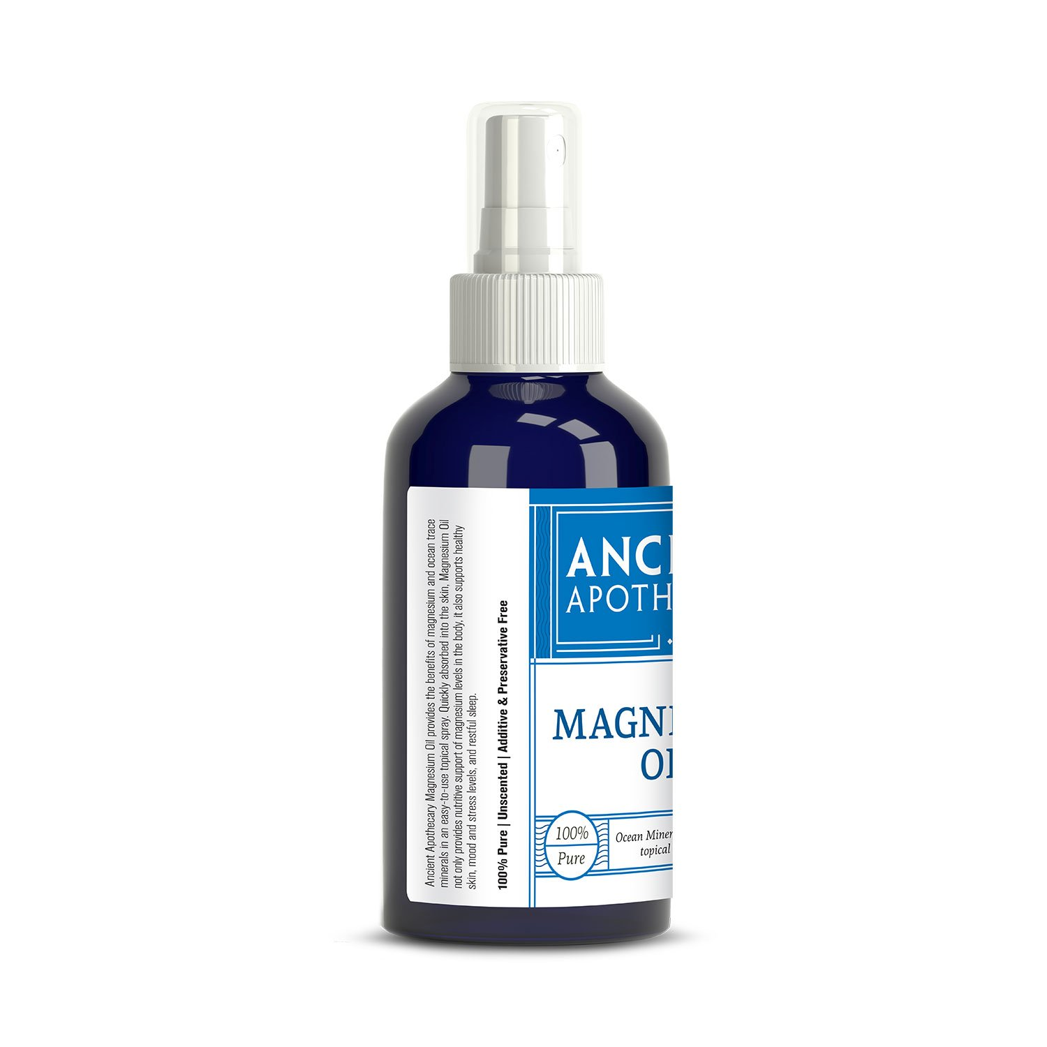 Amazon com: Magnesium Oil from Ancient Apothecary, 118 mL