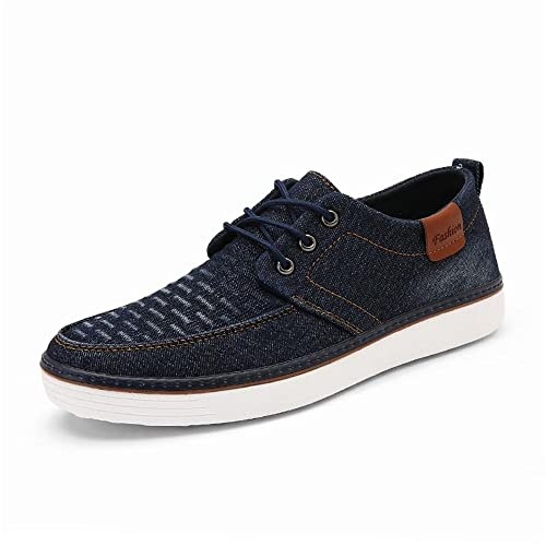 Moda Hombre Zapatillas Casual Jeans Pure Color Youth Trend Zapatos de Lona: Amazon.es: Zapatos y complementos
