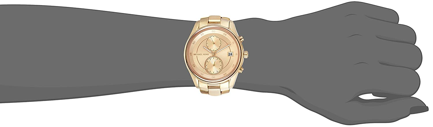 e1e2beed5a3a Amazon.com  Michael Kors Women s Briar Gold-Tone Watch MK6464  Michael Kors   Watches