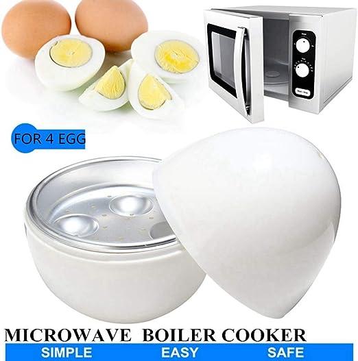 Sxuefang Cocedor Huevos 4 Tazas Huevos Caldera Cocina Para Para ...