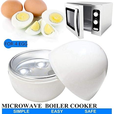 Sxuefang Cocedor Huevos 4 Tazas Huevos Caldera Cocina Para ...