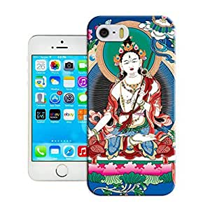 LarryToliver Modern Customizable Tibetan Book Case Cover for iphone 5/5s