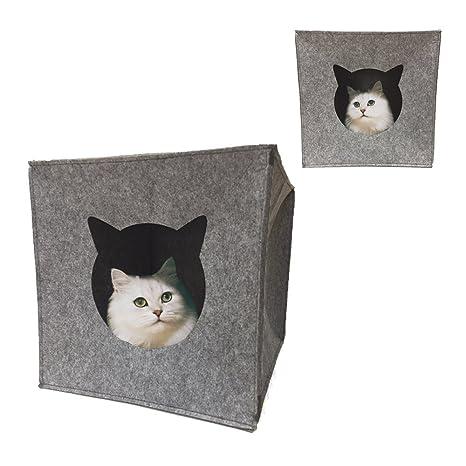 Cueva para gatos nido plegable para gatos cama de gato casa para mascotas