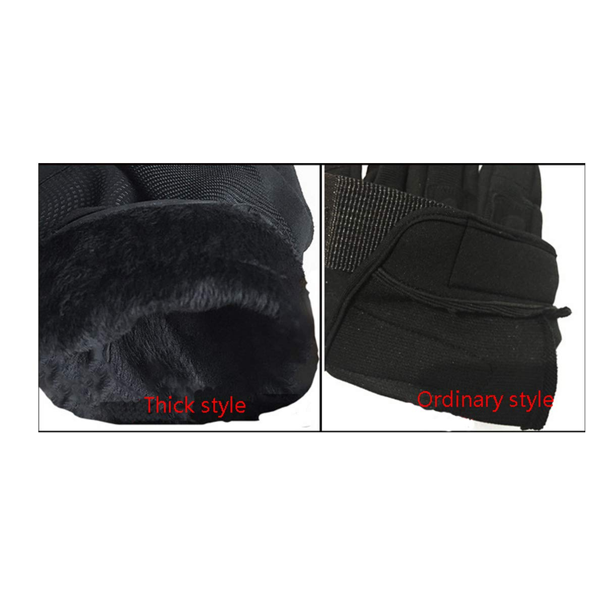 Army Fan Tactical Mens Winter Cut-proof Riding Touch Screen Windproof Plus Velvet Thick Warm Gloves Protect your hands