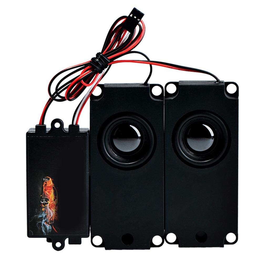 Sounding Throttle Linking Sound Group Speaker Upgraded R//C Racing Car Second Generation for Sports Car Truck Lamptti Car Engine Sound Simulator