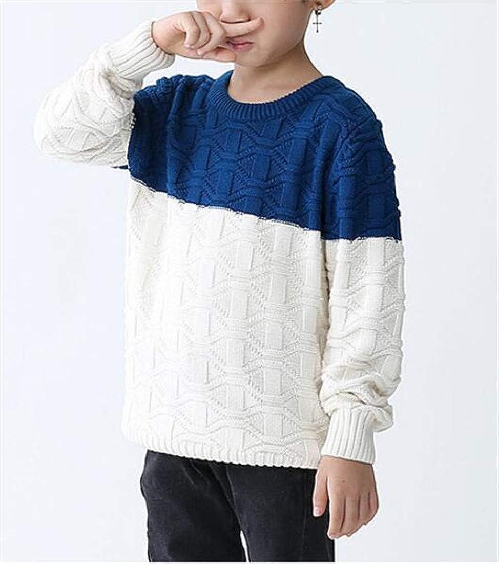 Joe Wenko Boys Baselayer Cute Pullover Warm Knitted Jumper Sweaters