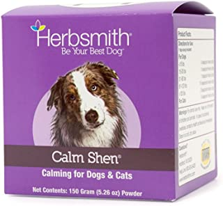 product image for Herbsmith Calm Shen – Herbal Blend for Dogs & Cats – Natural Anxiety Remedy for Dogs & Cats – Feline and Canine Calming Supplement