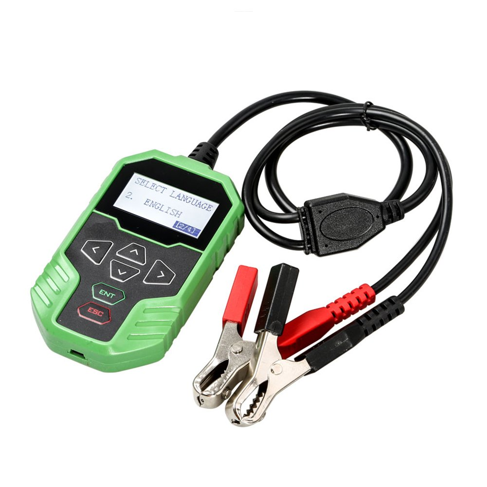 OBDSTAR Battery Analyzer BT06 100-2000 CCA 220AH Automotive Load Battery Tester 12V Lead-Acid Storage Battery 12 24V Automobile System