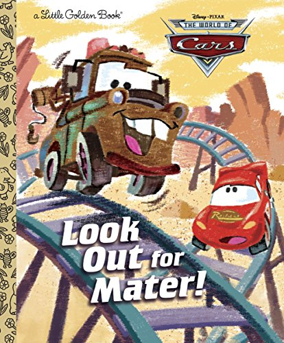 Look Out for Mater! (Disney/Pixar Cars) (Little Golden - Cars Disney Light Ghost Pixar