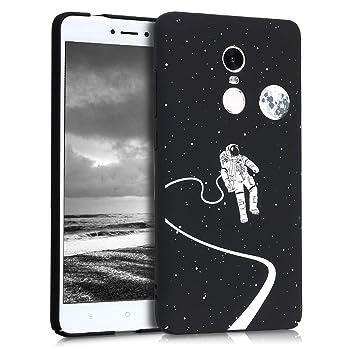 kwmobile Funda para Xiaomi Redmi Note 4 / Note 4X - Carcasa [Trasera] Protectora para móvil - Cover Duro con diseño Lunar