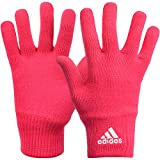 adidas Performance Women's Knitted Gloves - Pink - Medium
