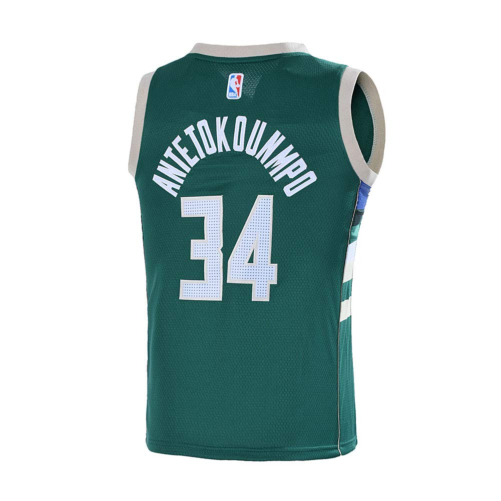 Amazon.com: Outerstuff Juventud 8-20 Milwaukee Bucks #34 ...