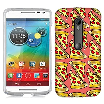 for Motorola Droid Turbo 2 Pizza Phone Cover Case