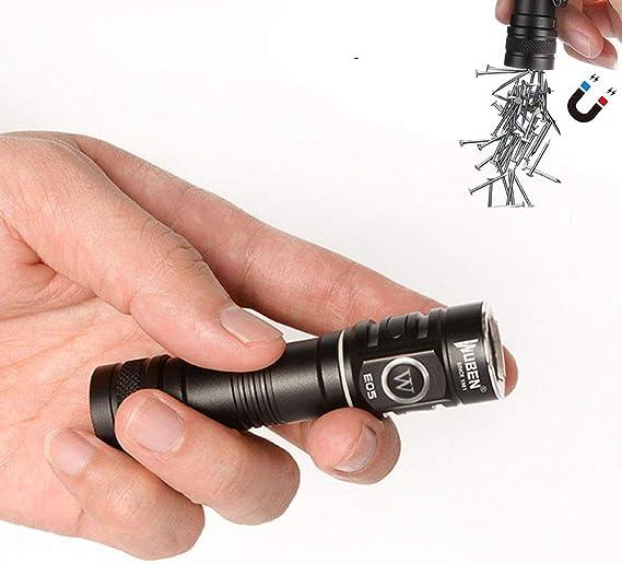 WUBEN E05 EDC Flashlight Super Bright 900 Lumens
