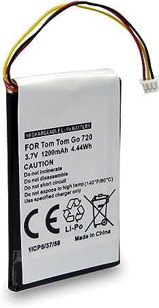 Akku Wie Cs Tm730sl Kompatibel Mit Tomtom Go 530 Live 630 720 730 730t 930 930t Navigation