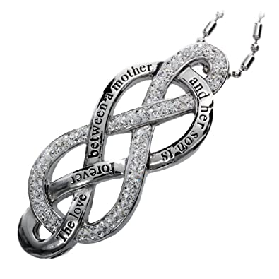 Amazon Rh Jewelry Mother And Son Love Infinity Symbol