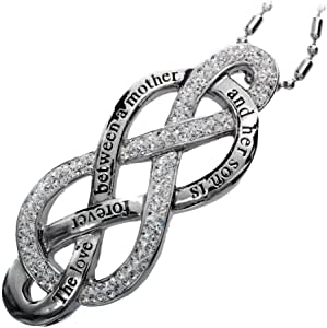 Amazon.com: R.H. Jewelry Mother and Son Love Infinity ...