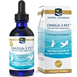 Nordic Naturals Omega 3 Pet - Fish Oil Liquid For Small Dogs And Cats, Omega-3s, EPA And DHA Supports Skin, Coat, Joint And Overall Health In Triglyceride Form For Optimal Absorption, 2 Ounces