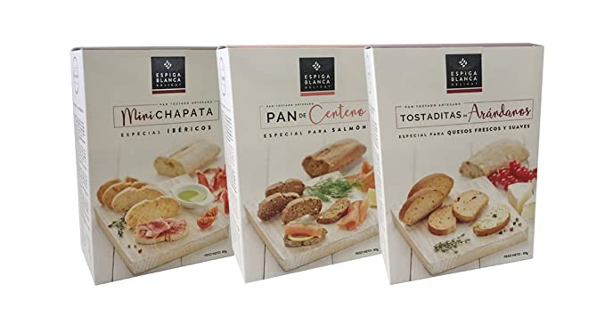 ESPIGA BLANCA - Pack Variado 2: Mini Chapata - Pan De ...