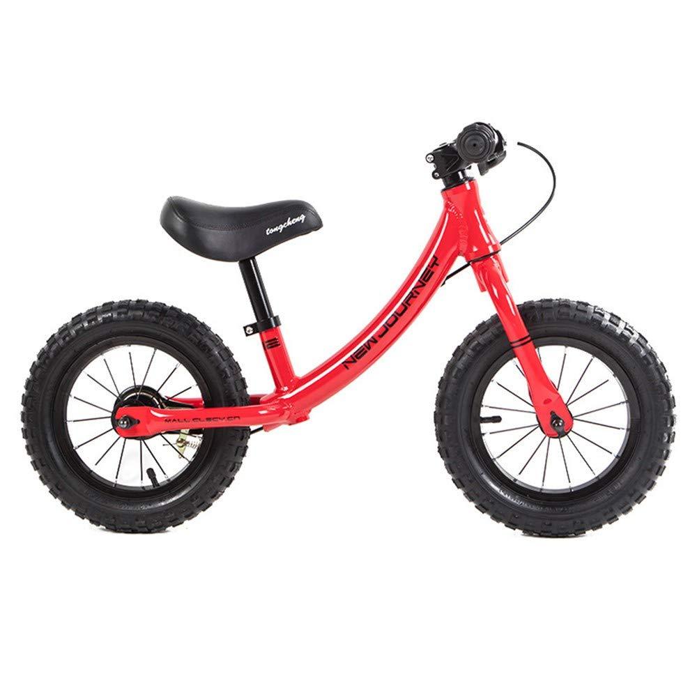 Steaean Balance Fahrrad Balance Auto Rutsche Kinderwagen ohne Pedal Roller Baby Wanderer mit Bremse Jungen Fahrrad