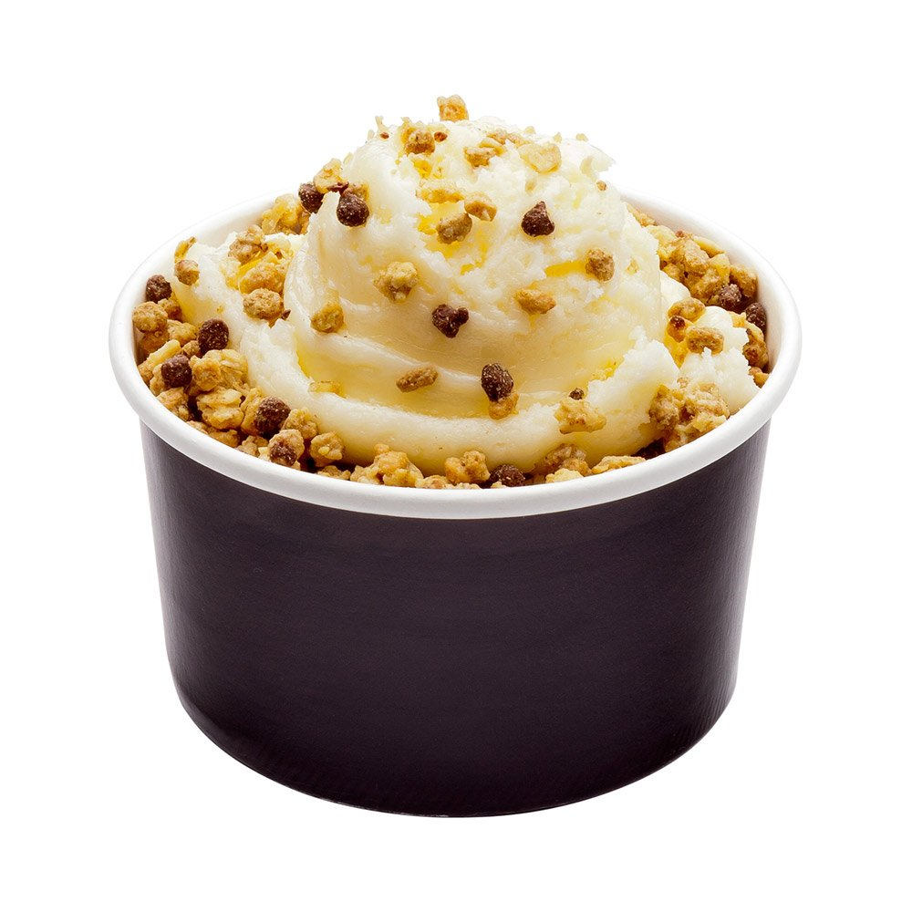 200-CT Disposable Black 8-OZ Ice Cream Cups - Coppetta Large Hot and Cold To Go Cups: Perfect for Cafes - Eco-Friendly Recyclable Paper Cup - Wholesale Takeout Food Container