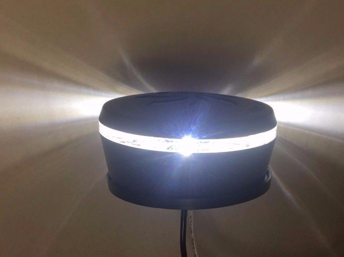 Marine Boat 12V LED Waketower All-Round Navigation White Light Watertight 2NM