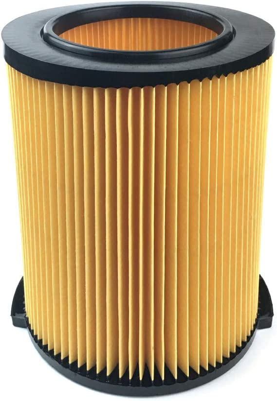 1-Layer Standard Wet/Dry Vac Filter for VF4000 5-20 Gallon Vacuums yellow