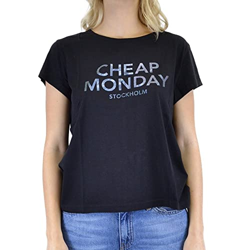 Cheap Monday Have Tee Foil Logo, Camiseta para Mujer