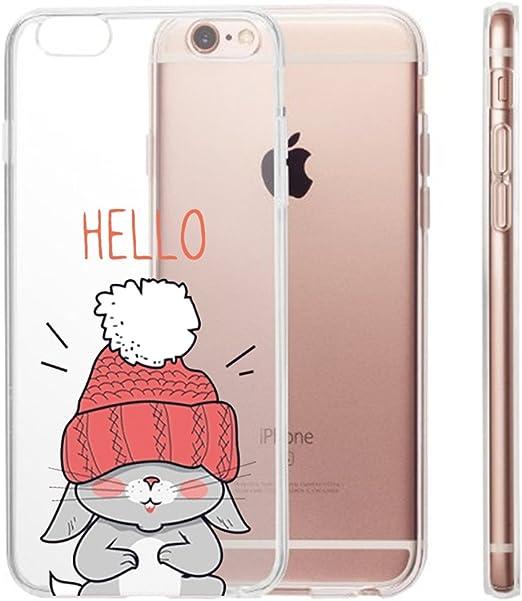 Caler iPhone 6 Plus Funda Case Dibujos Animados Divertida Suave