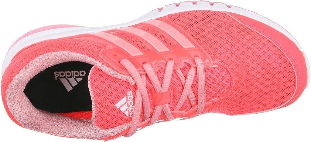Adidas Performance Galaxy Elite FF W Correr, Red Flash Super Pop/Blanco, 5 M US: Amazon.es: Zapatos y complementos