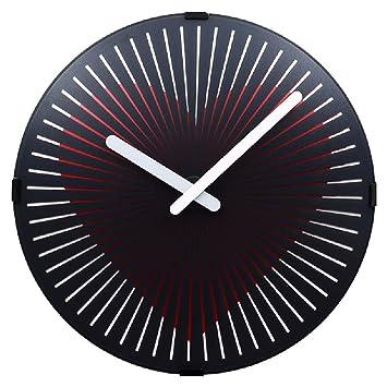 Imoerjia Dynamic ARC Relojes, Creative Reloj Redondo de Pared en Salón Mesa de Pared, Mute Ghost Go Teclado Reloj, Creative Reloj de Pared: Amazon.es: Hogar