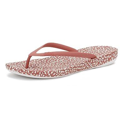 283d0af731e Fitflop Womens Rosy Bubbles iQushion Ergonomic Flip Flops  Amazon.co.uk   Shoes   Bags