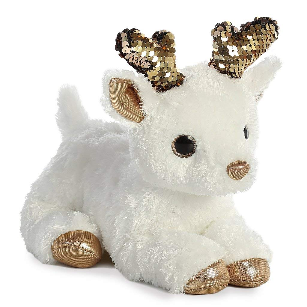 Christmas Items Aurora 11 Shimmers Rose Gold Deer