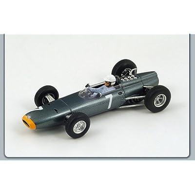 SPARK MODEL S1157 BRM R.GINTHER 1964 N.7 2nd MONACO GP 1:43 MODELLINO DIE CAST Jeux et Jouets