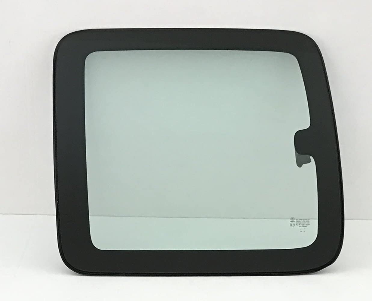 NAGD for 1999-2006 GMC Sierra 2 Door Extended Pickup Driver//Left Side Rear Movable Quarter Window Replacement Glass w//Latch