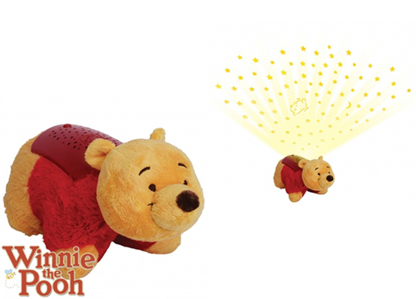 Almohadas con forma de personaje Disney con proyector de luz ...