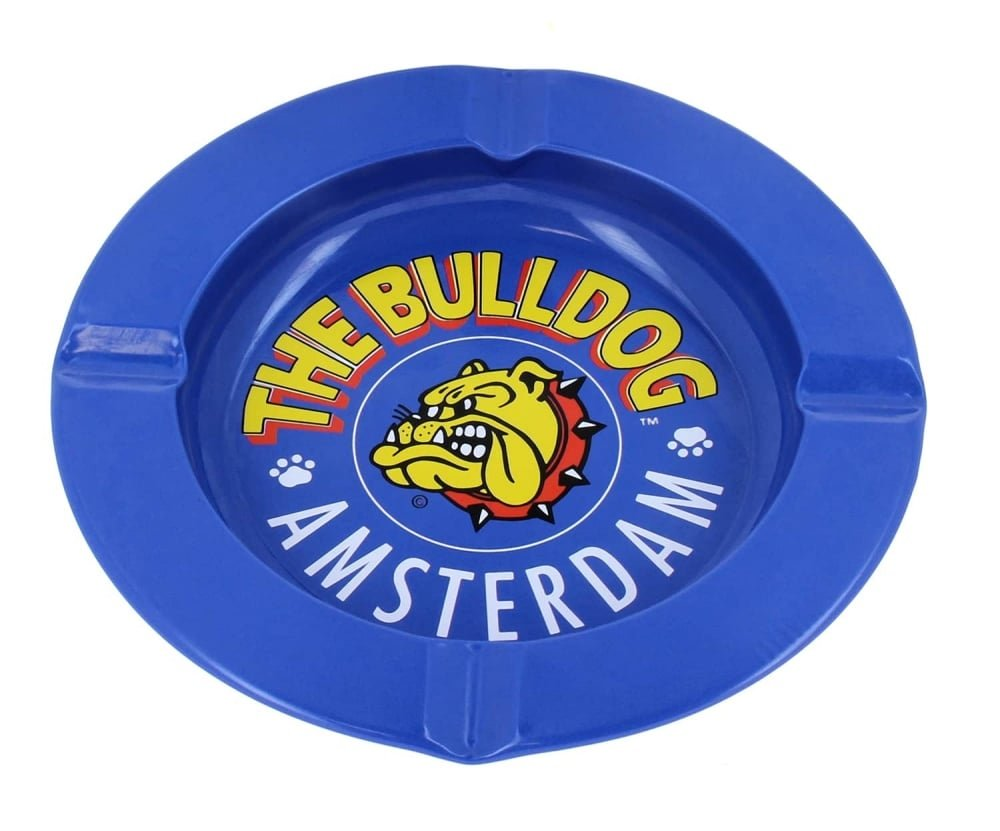 El Cenicero Azul Bulldog The Bulldog