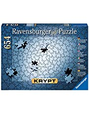 Ravensburger 15964 Krypt Silver - 654 pc Blank Puzzle Challenge