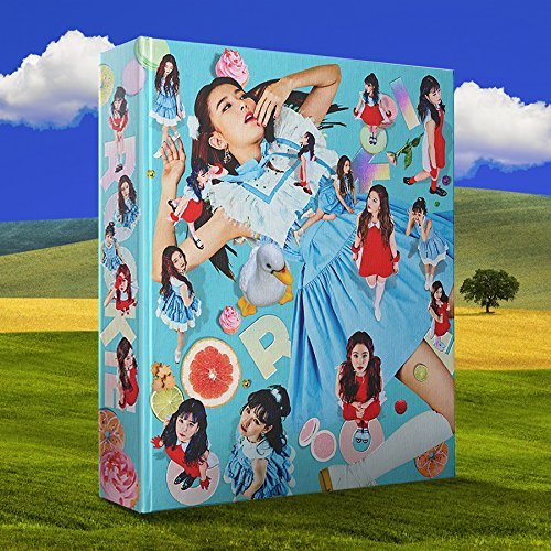 Poster Book Red (Red Velvet - Rookie (4th Mini Album) CD+Photobook+Folded Poster+Extra Photocards Set)