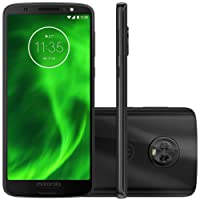 "Smartphone, Motorola, G6 XT1925, 64 GB, 5.7"", Preto"