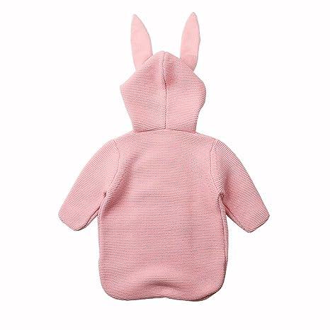 colinsa Saco de Dormir de Punto Bebé Saco de Dormir Pijama de Invierno y Spring y