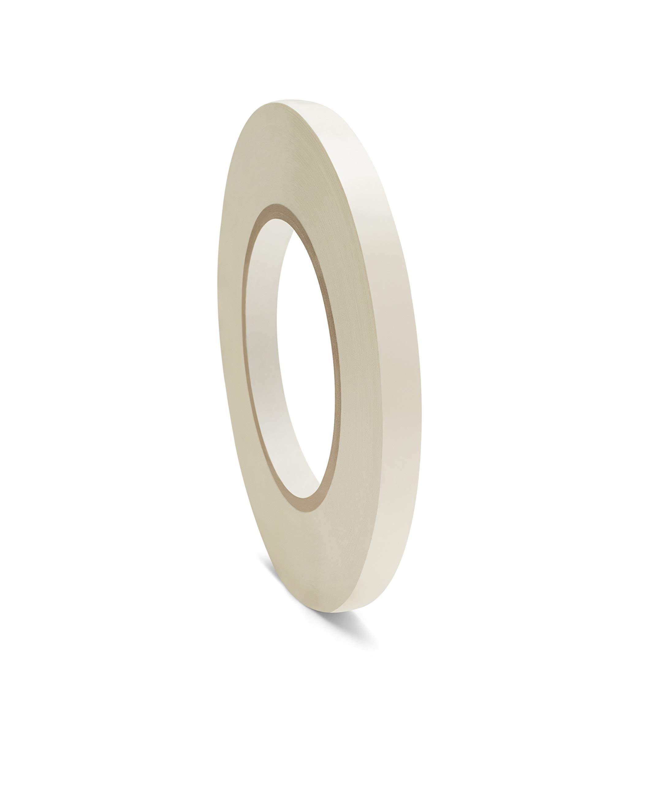 White Poly Bag Sealer Tape 3/8 Inch x 180 Yards 6 Rolls