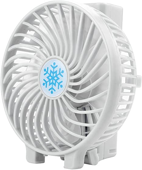 Fabal Portable Mini Handheld Fan Personal Desk Table Desktop Cooling Fan Rechargeable