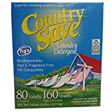 Laundry Detergent Powder, Natural - HE Natural Laundry Detergent Clear and Free of Fillers and Chemicals - Sensitive Washing Detergent Safe for Babies - Country Save Laundry Detergent, 10 lbs